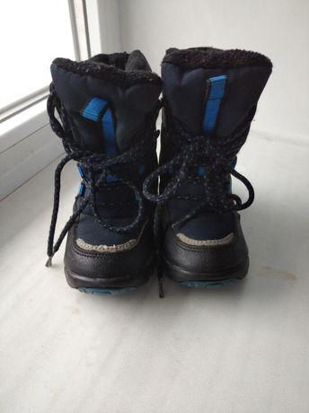 Чобітки, ботинки термо фірмові 25