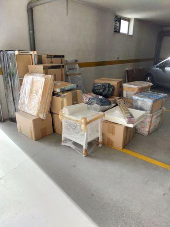 Material de embalagem, montagem e desmontagem