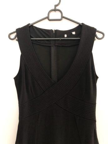 Czarna dopasowana sukienka H&M 38