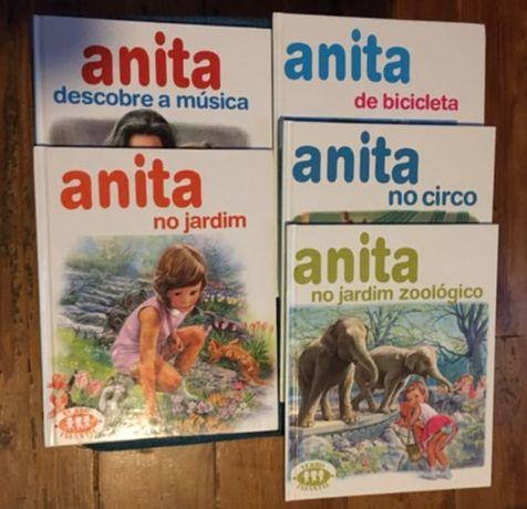 Vários Livros da Anita