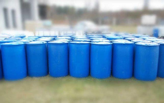 Beczki 220 litrów na DESZCZÓWKĘ wodę olej rope pomost 200 budowe