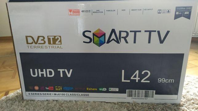 """Телевизор LED L42-40"""",Smart TV+Т2+HDMI+USB под SAMSUNG (43,50,55"""")"""