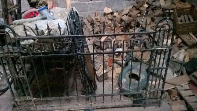 Brama kuta 190x120, furtka 120x 80cm