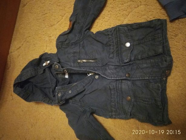 Лёгкая куртка, ветровка 86-98