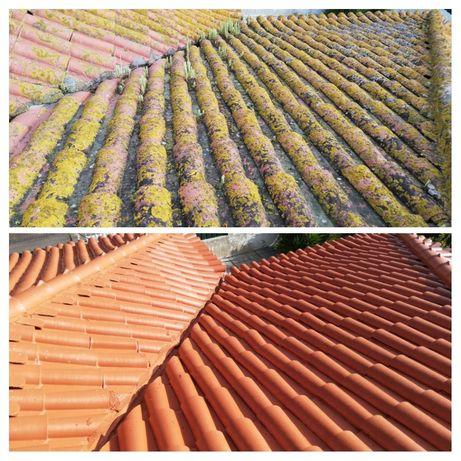 Lavagem e Impermeabilização de telhados
