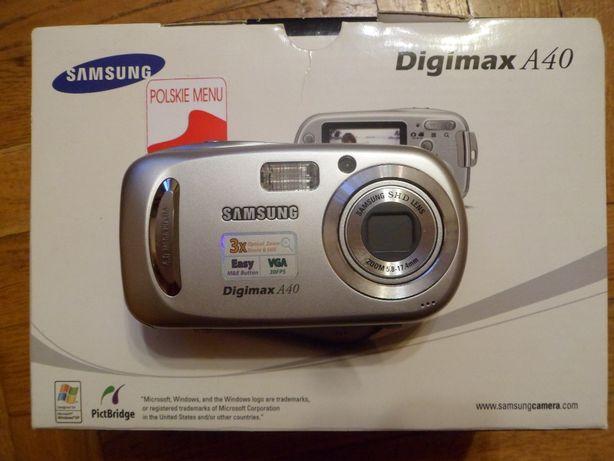Aparat cyfrowy Samsung Digimax A40 - Łódź