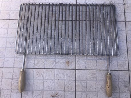 Grelha churrasco em inox
