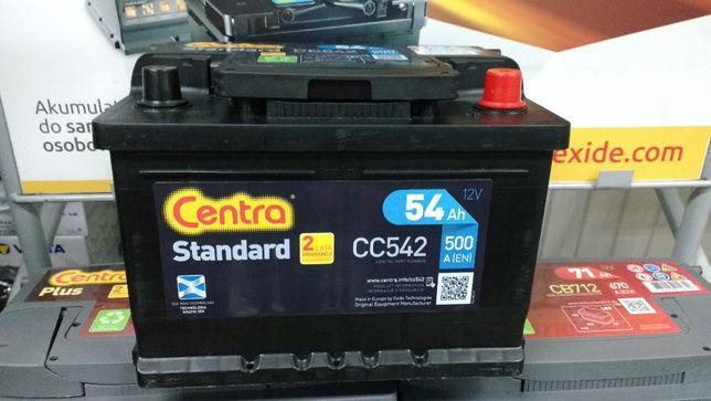 Akumulator Centra Standard CC542 12V 54Ah 500A P+ Kraków Ford EC542
