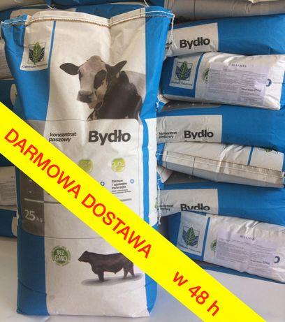 Pełny Koncentrat Opas 39% 25kg pasza dla bydła byków, ze: soja, rzepak