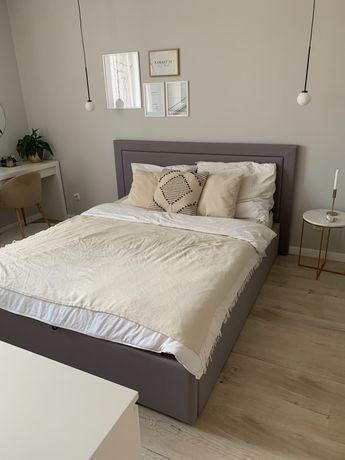 Łóżko 160x200 stan idealny, kolor grafit