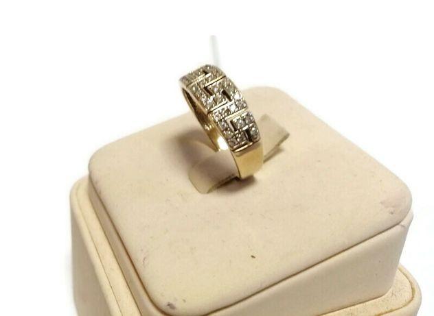 Wyrób jubilerski - złoty pierścionek 585 3,51g