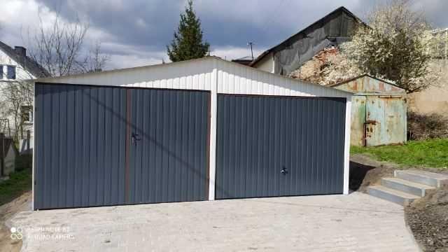 garaż blaszany garaż blaszak 6x5.80 producent 5x5 4x5 5x6 wiata hala