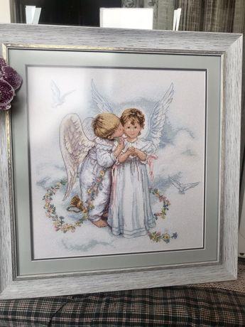 Вишита картина Ангели