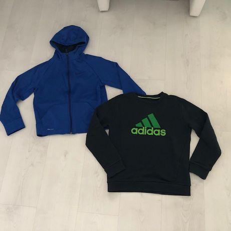 bluza Nike i bluza Adidas 137/147, 10-12 lat