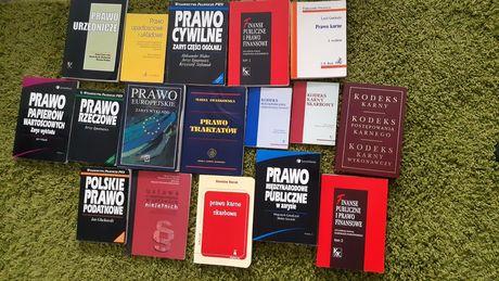 Książki prawnicze, administracyjne komplet