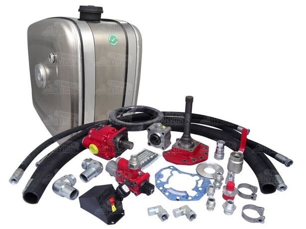 Hydraulika siłowa wywrotu kipra MERCEDES standard