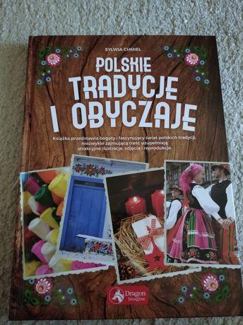 """Nowa książka.Sylwia Chmiel""""Polskie Tradycje i Obyczaje""""10zł"""