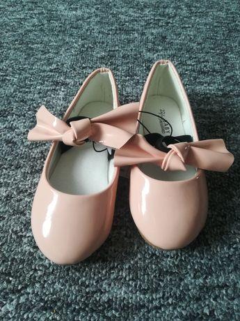 Promocja na dziś!   Rozm 22/23 buciki balerinki lakierki Reserved nowe