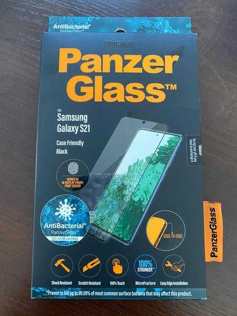 Szkło antybakteryjne PanzerGlass Samsung Galaxy S21