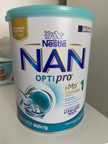 Сухая молочная смесь NAN optipro 1