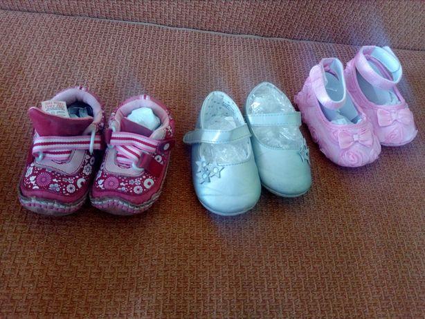 Buciki niechodki buty dla małej damy