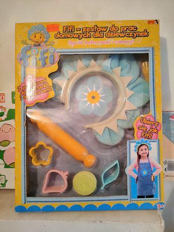 Figi zestaw do prac domowych dla dziewczynek