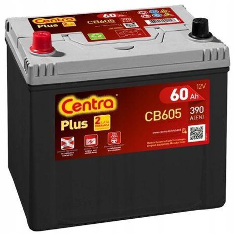 Akumulator Centra Plus CB605 12V 60Ah 390A L+ Kraków EB605