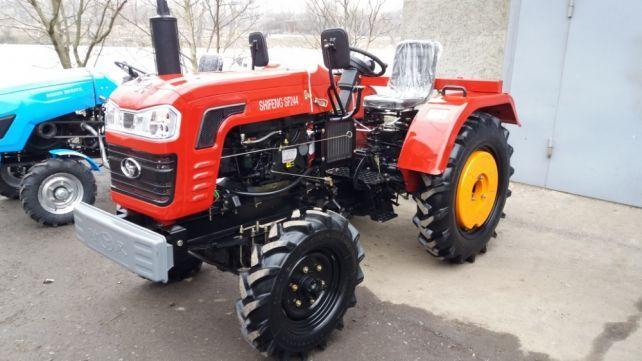 Шифенг SHIFENG 244 4×4 24к.с. Можливий обмін на ваш Б/У трактор.