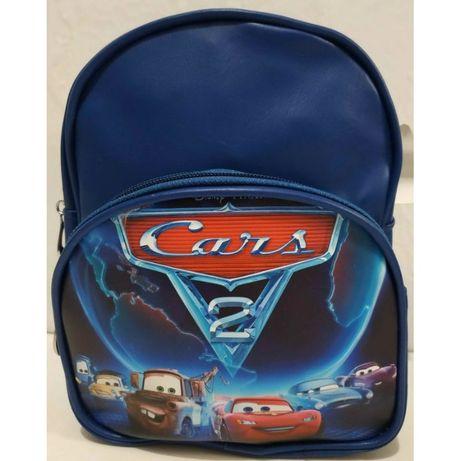 """Детский рюкзак для мальчика """"Мультгерои"""" (синий-Тачки)"""