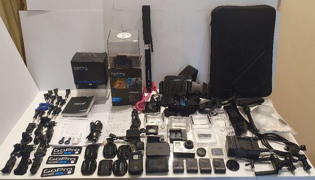 Kamera GoPro Hero 3+ Black 32GB LCD pełen zestaw