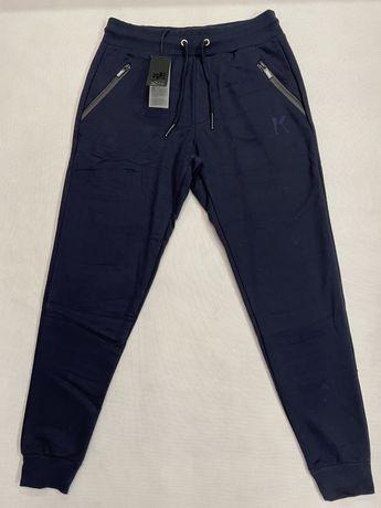 Spodnie dresowe dres Karl Lagerfeld granatowe L