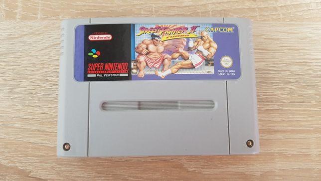 Kartridż z grą Street Fighter II Turbo do konsoli Super Nintendo SNES
