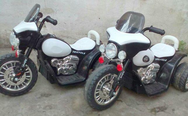 Дитячi електромотоцикли полiцiя