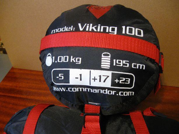 Лёгкий спальный мешок Viking 100 (комфорт -1 до +17)