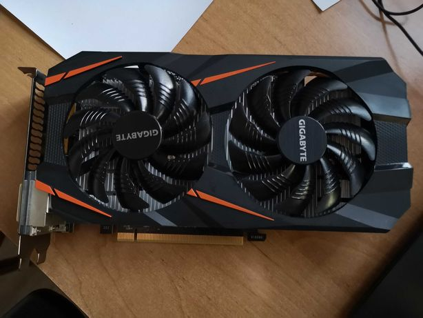 Gigabyte GeForce GTX 1060 WindForce OC 3GB (GVN1060WF2OC3GD)