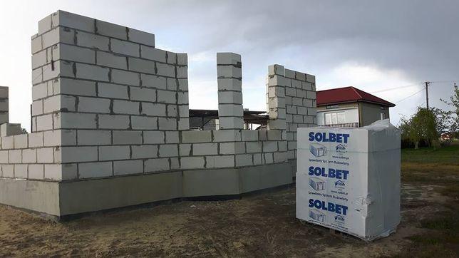 Bloczki Betonu Komórkowego SUPOREX SOLBET 59x24x24cm