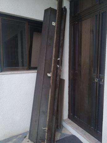 Portão de fole para garagem