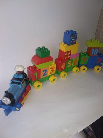 Поезд Лего Дупло с Томасом 600 руб