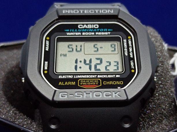 """Casio G-Shock DW-5600E-1VDF """"Iconic Model""""- Novo e Original"""