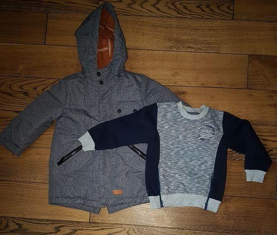 Куртка  парка дитяча + кофтинка у подарунок