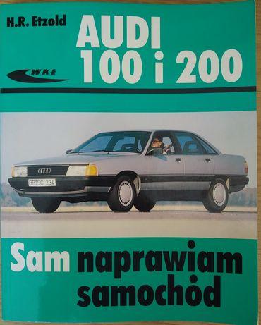 Książka Sam naprawiam samochód audi 100 i 200 wkł