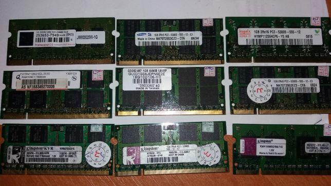 Память ноутбука DDR2 1Gb