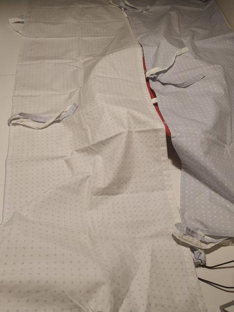 2 Protetor lateral de cama de grades com almofadas e capa - Zara home