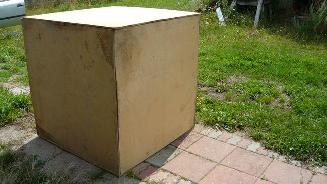 Skrzynia drewniana paletowa skrzyniopaleta kontener big box pojemnik