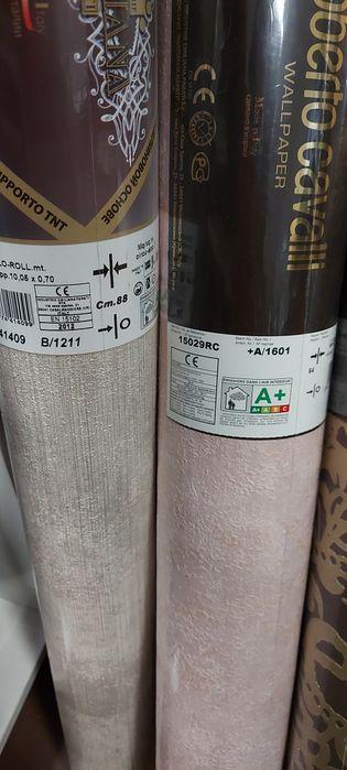 продам остатки итальянских обоев Roberto cavalli 70см Киев - изображение 1