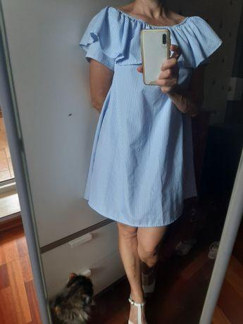 Идеальный вариант для жары, платье с воланом