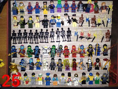 LEGO минифигурки человечки Star Wars, Ninjago, Властелин Колец, Marvel