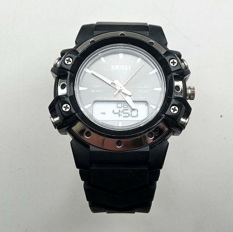 Часы наручные спортивные мужские Skmei BlackBox, защищенные, на ходу