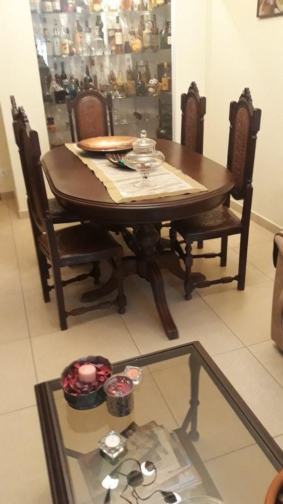 Mesa de sala com 6 cadeiras Moura (Santo Agostinho E São João Baptista) E Santo Amador - imagem 1