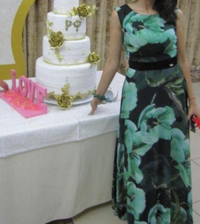 Платье  в пол вечерние